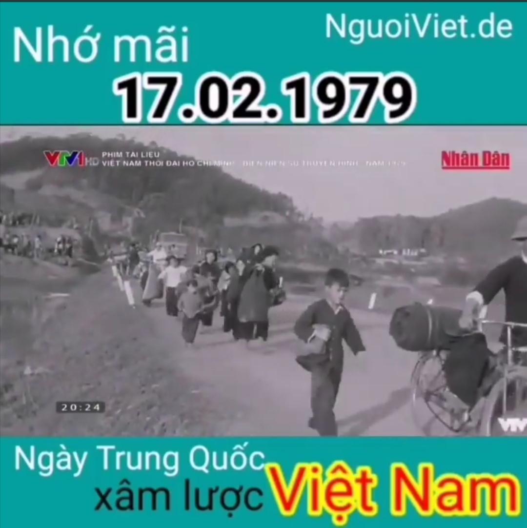 Ngày 17.02.1979 Trung Quốc xâm lược biên giới phía Bắc của Việt Nam (Hình trích từ Clip của NguoiViet.de)